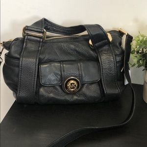 Michael Kors Soft Black Leather Crossbody
